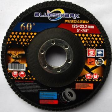 Disc lamelar frontal Shark 125x22 P80, 10buc/ cutie de la Tehnic Depo Srl