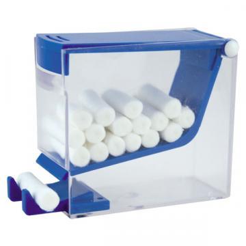 Dispenser rulouri bumbac, plexiglass transparent igienic