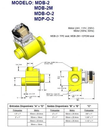 Electrovalva apa MDP-O-2 220/240V, 50/60Hz, 3120322