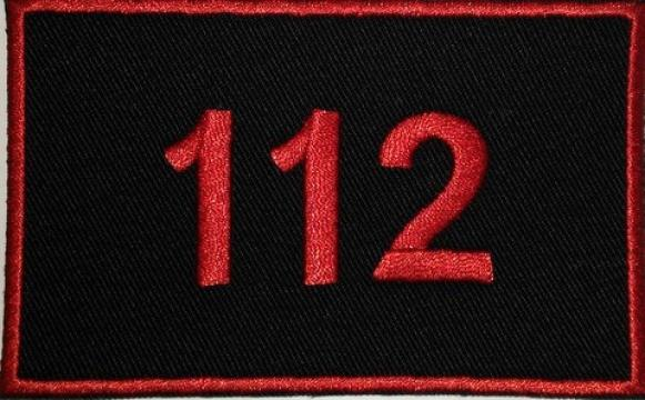 Emblema 112 brodata de la Hyperion Trade