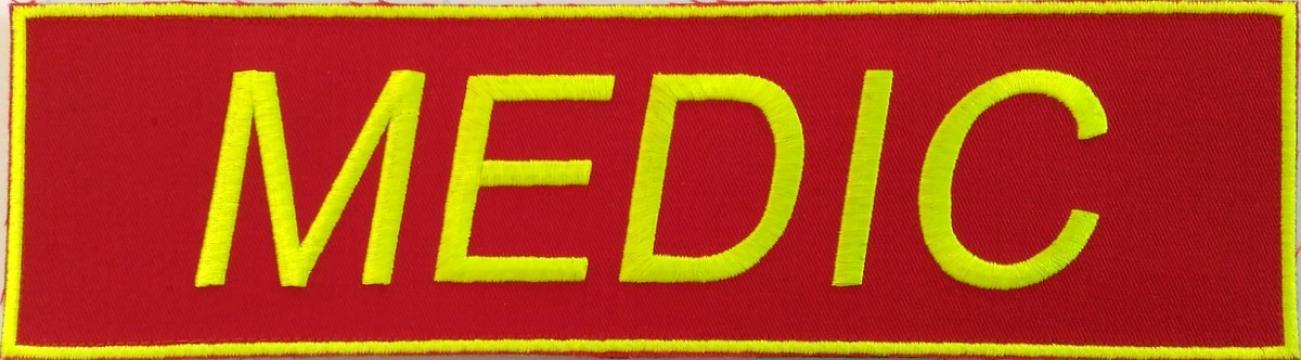 Emblema Medic-SMURD spate vernil-neon de la Hyperion Trade