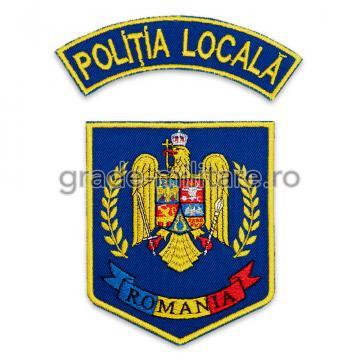 Emblema brodata Politia Locala de la Hyperion Trade