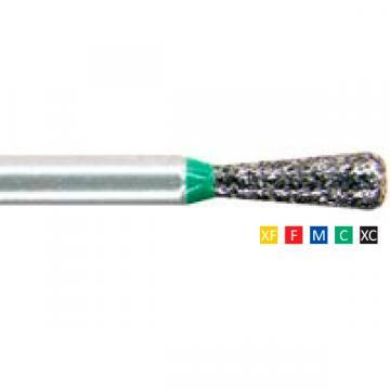 Freze dentare diamantate Pear 234 F 014(1/10mm), XF, F de la Sirius Distribution Srl