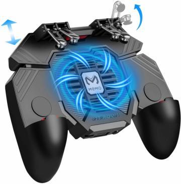GamePad telefon mobil controler sase degete cu ventilator
