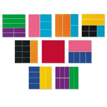 Jucarie Geometria fractiilor - Patrate de la A&P Collections Online Srl-d