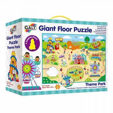 Puzzle Giant Floor: Parcul de distractii (30 piese) de la A&P Collections Online Srl-d