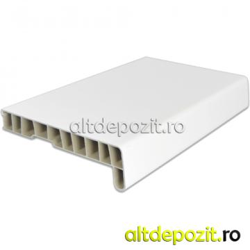 Glaf PVC infoliat alb de la Altdepozit Srl