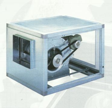 Ventilator centrifugal debit CVTT 9/9 with motor of 0.18kw