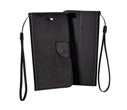 Husa flip Telone Fancy Diary pentru Nokia 8 neagra de la Color Data Srl