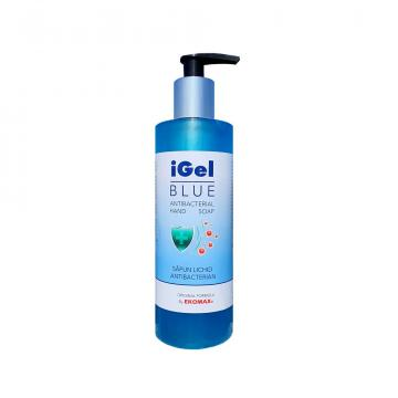 Sapun lichid IGel Blue Antibacteria flacon 330 ml cu pompita de la Ekomax International Srl