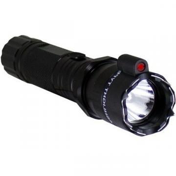 Lanterna cu electrosoc si laser incorporat