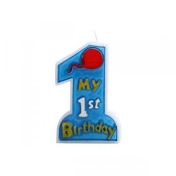 Lumanare My First Birthday de la GM Proffequip Srl