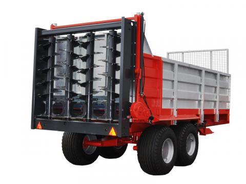 Remorca de imprastiat gunoi N-255/5 10 tone de la Romagrotehnica Srl.