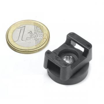 Magnet neodim cauciucat 22 mm, pentru fixare cablu de la Arca Hobber Srl