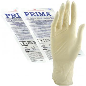Manusi chirurgicale sterile usor pudrate 6,5 - 7 - 7,5