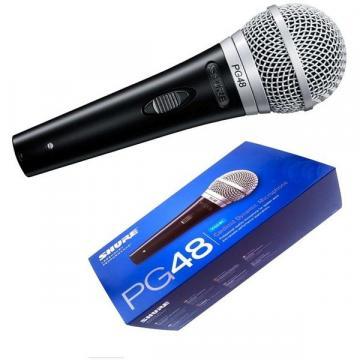 Microfon profesional voce Shure PG48 Dinamic Cardioid