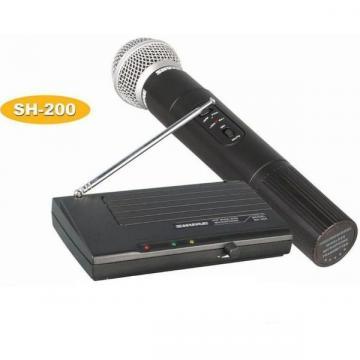 Microfon profesional wireless Shure SH-200 cu cablu audio