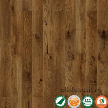 Parchet triplustratificat stejar Nugat Piccolo scurt 14 mm