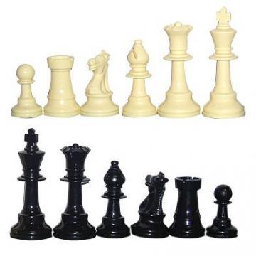 Piese de sah din plastic no. 6 - light de la Chess Events Srl