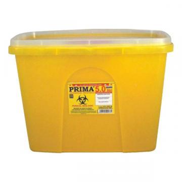 Recipient 15 litri, plastic, deseuri intepatoare / taioase