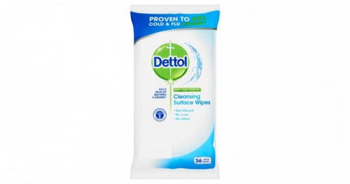 Servetele umede antibacteriene Dettol 36buc de la Pepita.ro