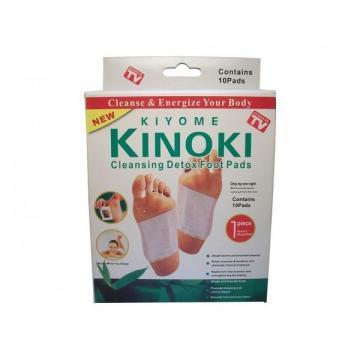 Set 10 plasturi Kinoki Kiyome pentru detoxifiere organism