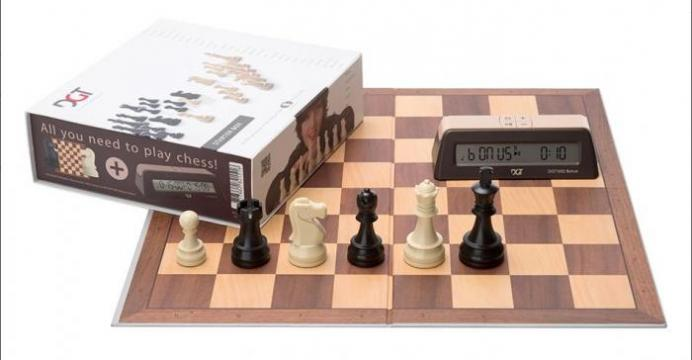 Set sah DGT Starter Chess Box - maro de la Chess Events Srl