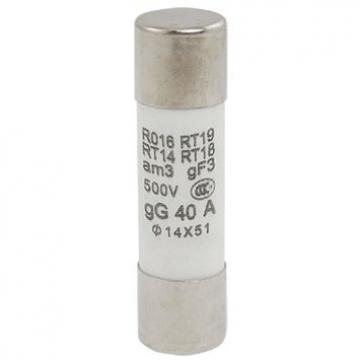 Siguranta ceramica cilindrica rapida 40A R016, RT19 de la Kalva Solutions Srl