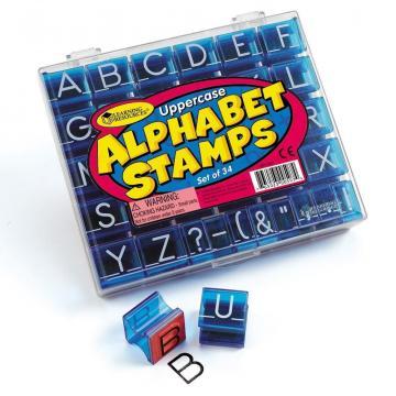 Stampile Alfabet de la A&P Collections Online Srl-d