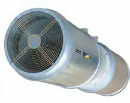 Ventilator axial evacuare fum THT/IMP-C-UNI-38-2/4T-1.5