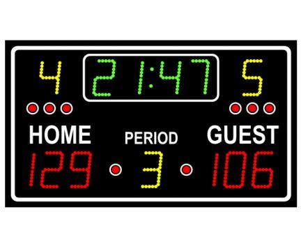 Tabela electronica multisport pentru exterior 2000 de la Sc Licornia Srl