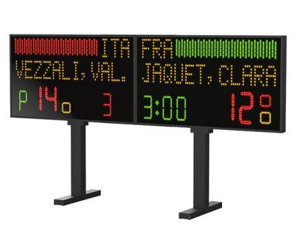Tabela electronica semnalizare si scor scrima FR240