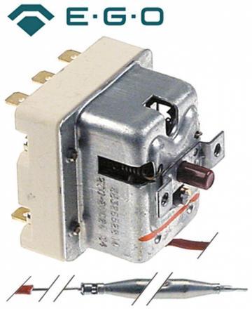 Termostat de siguranta 270C, 3poli, 20A, bulb 6mmx79mm