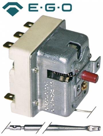 Termostat de siguranta 280C, 3 poli, 20A, bulb 4mmx120mm