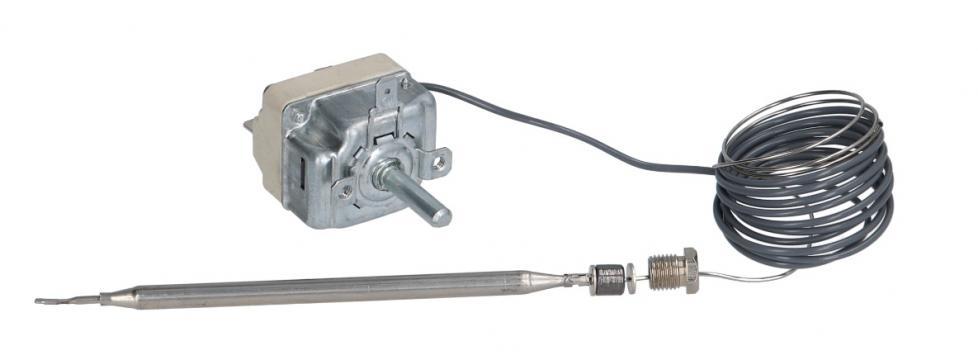 Termostat reglabil 100-190C, 1NO, 16A