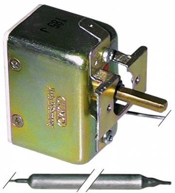 Termostat reglabil 20-500C, 1CO, 16A, bulb 8mmx155mm
