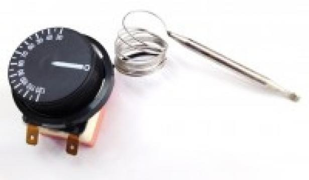 Termostat reglabil 30-90*C, bulb diametru 6x85mm