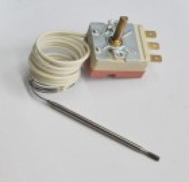 Termostat reglabil 50-230*C, 1NO, bulb 3x115mm de la Kalva Solutions Srl