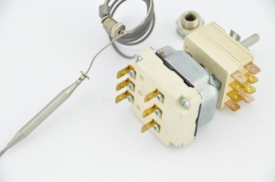 Termostat reglabil trifazic 56-326*C, bulb 3.1x226mm de la Kalva Solutions Srl