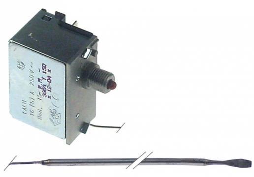 Termostat de siguranta 335C, 16A, 1 pol, bulb 3mmx152mm