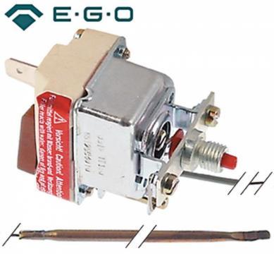 Termostat de siguranta 500C, 1 pol, 16A, bulb 3.9mmx230mm