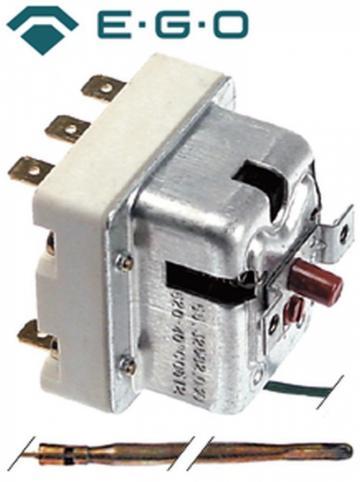 Termostat de siguranta 520C, 3 poli, 20A, bulb 3.9mmx228mm