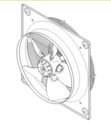 Ventilator axial HXTR/4-450