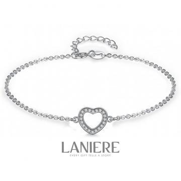 Bratara din argint 925 Crystal Love Laniere de la Luxury Concepts Srl