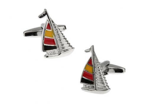 Butoni pentru camasa Sail boat de la Luxury Concepts Srl