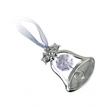 Figurina Clopotel cu cristale Swarovski violet de la Luxury Concepts Srl