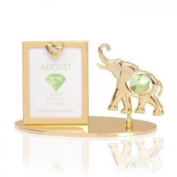 Rama foto Piatra norocoasa August cu cristale Swarovski de la Luxury Concepts Srl