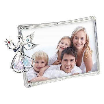Rama foto cu ingeras decorat cu cristale Swarovski de la Luxury Concepts Srl