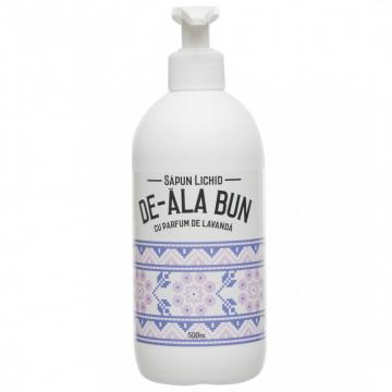 Sapun De-ala Bun extract lavanda - lichid 500ml