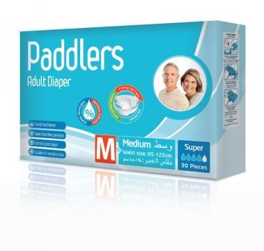 Scutece adulti Paddlers, Marimea M - Medium, 120 buc/set